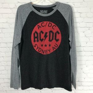 AC/DC Rock Band Graphic Men's Tee Size Large
